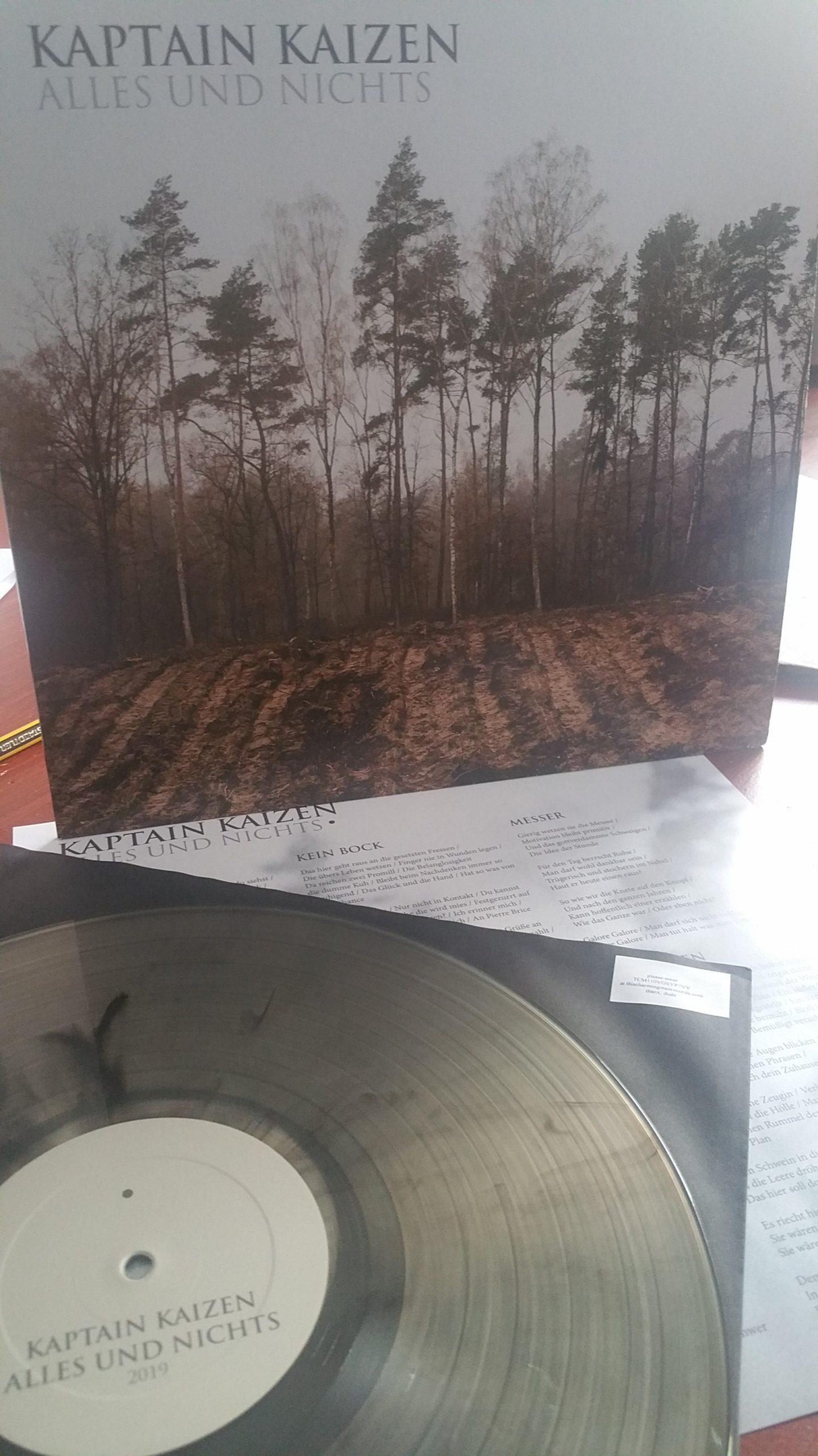 review: KAPTAIN KAIZEN – alles und nichts LP