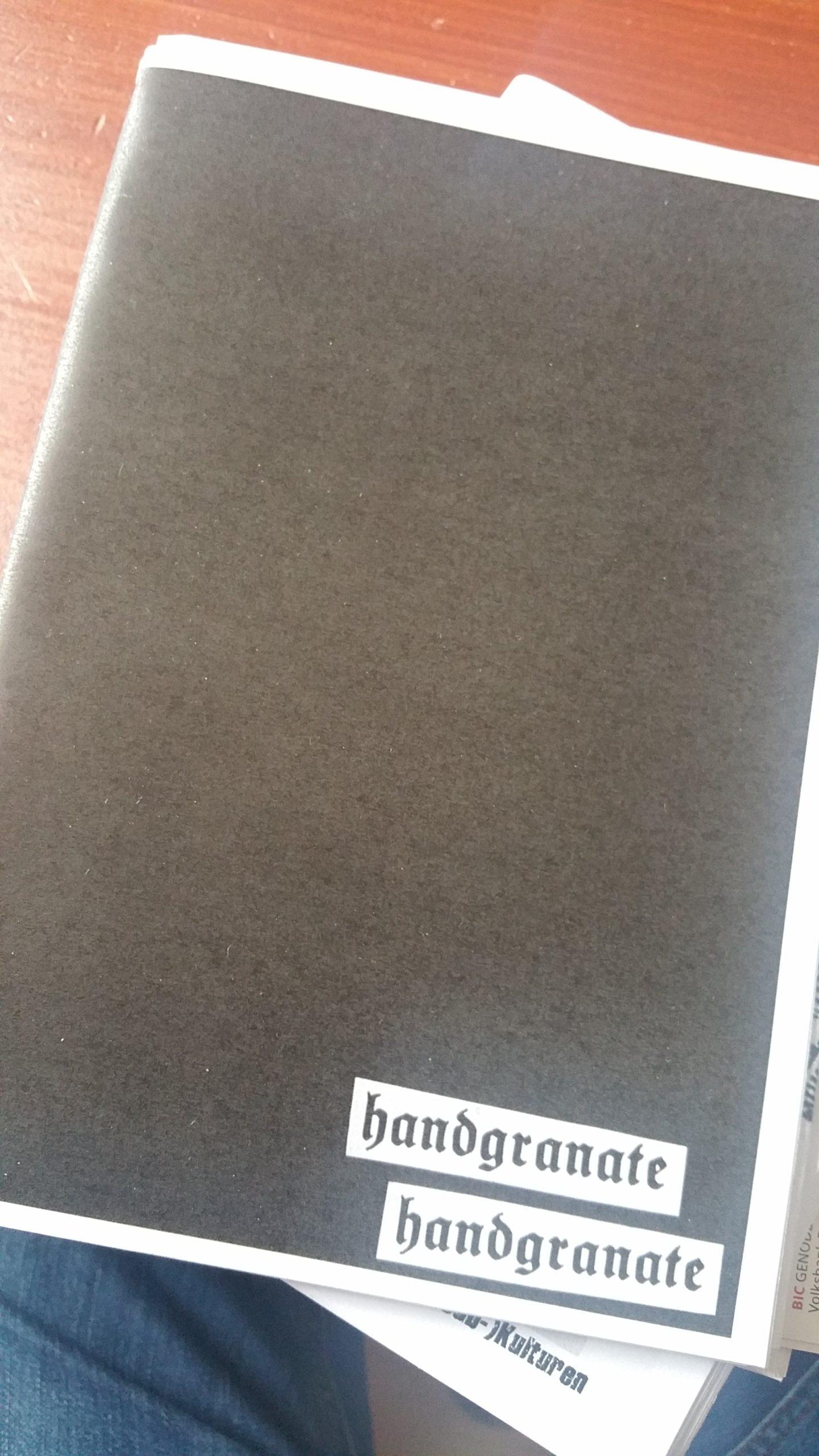 fanzine: HANDGRANATE #2