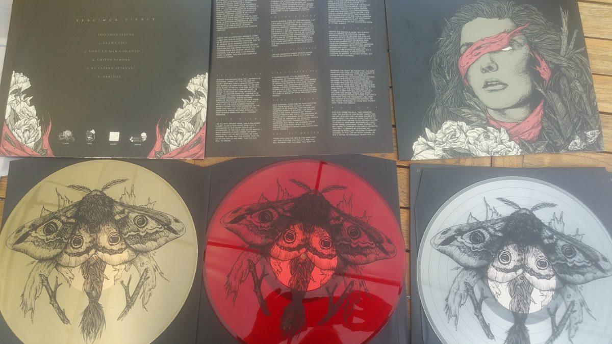 review: DREI AFFEN – seguimos ciegxs EP