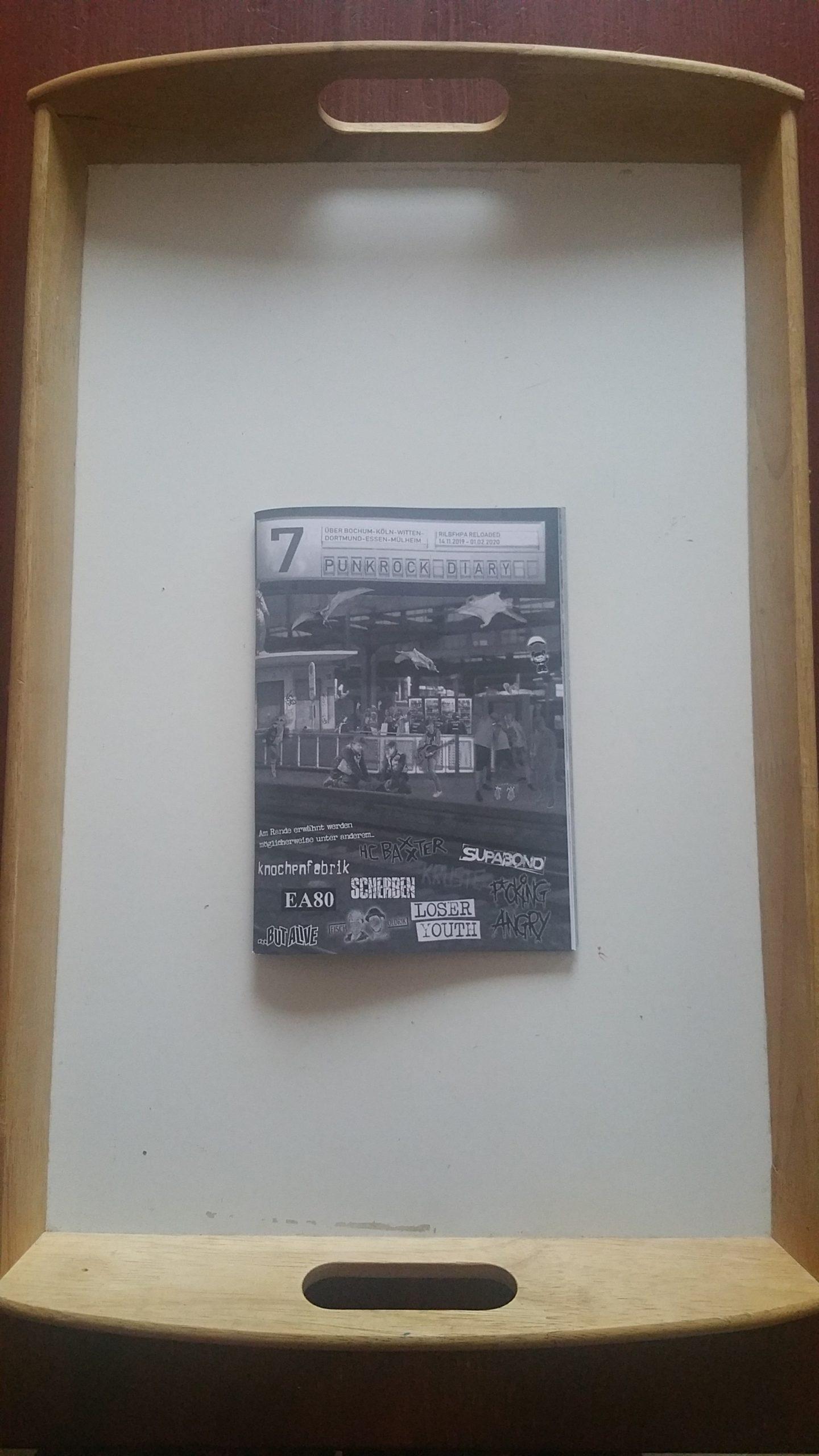 fanzine: PUNKROCK DIARY #7