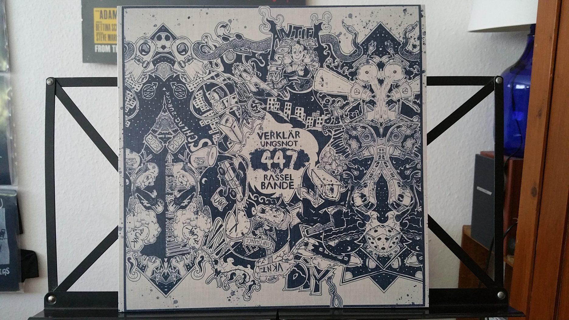 review: VERKLAERUNGSNOT – 447 rasselbande LP