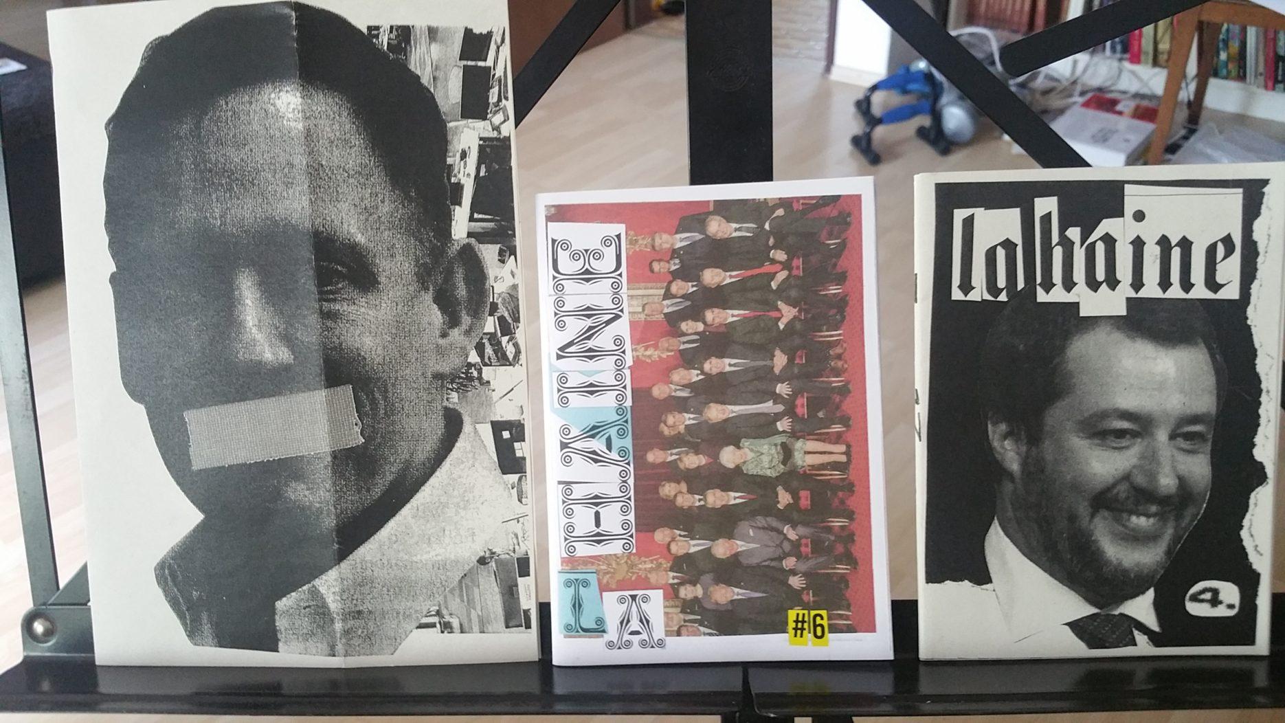fanzine: LA HAINE #4 & #6