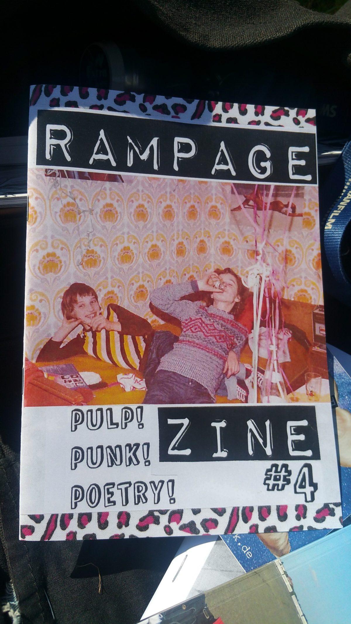fanzine: RAMPAGE #4
