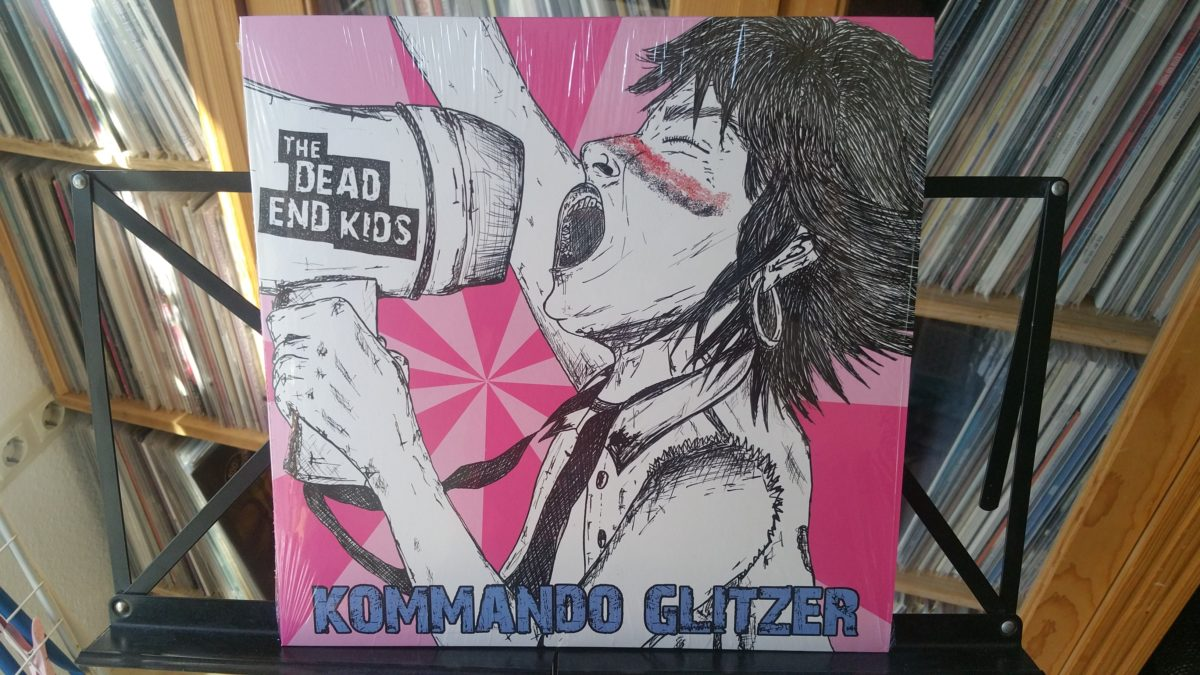 THE DEAD END KIDS – kommando glitzer LP