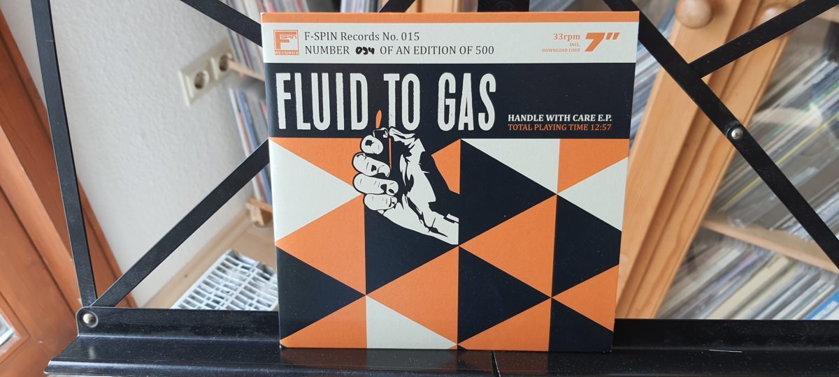 review: FLUID TO GAS – handle with care / split w/POTATO FRITZ