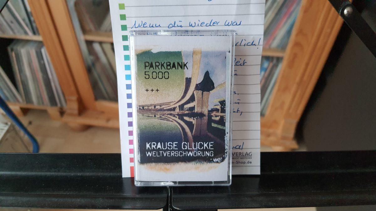 review: KRAUSE GLUCKE WELTVERSCHWÖRUNG – split/ PARKBANK 5000  MC