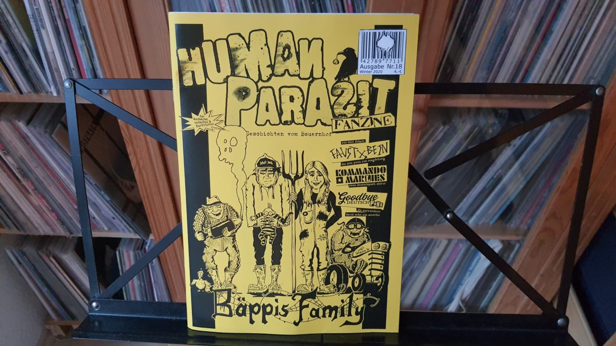 fanzine: HUMAN PARASIT #18