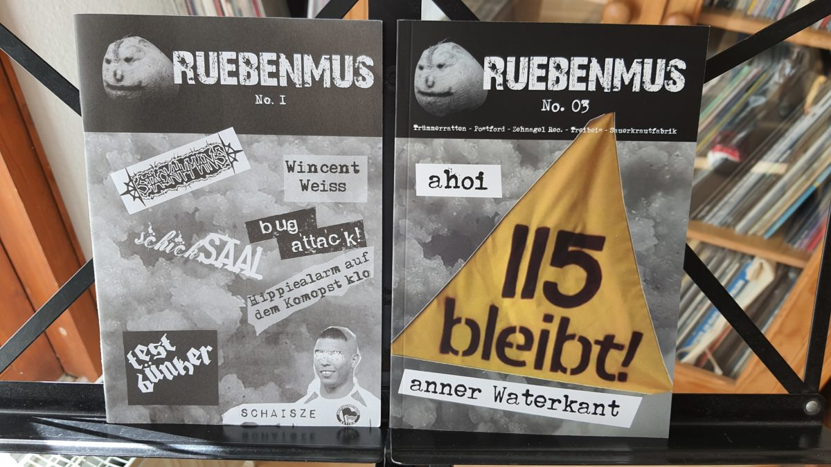 fanzine: ruebenmus #1 & #3