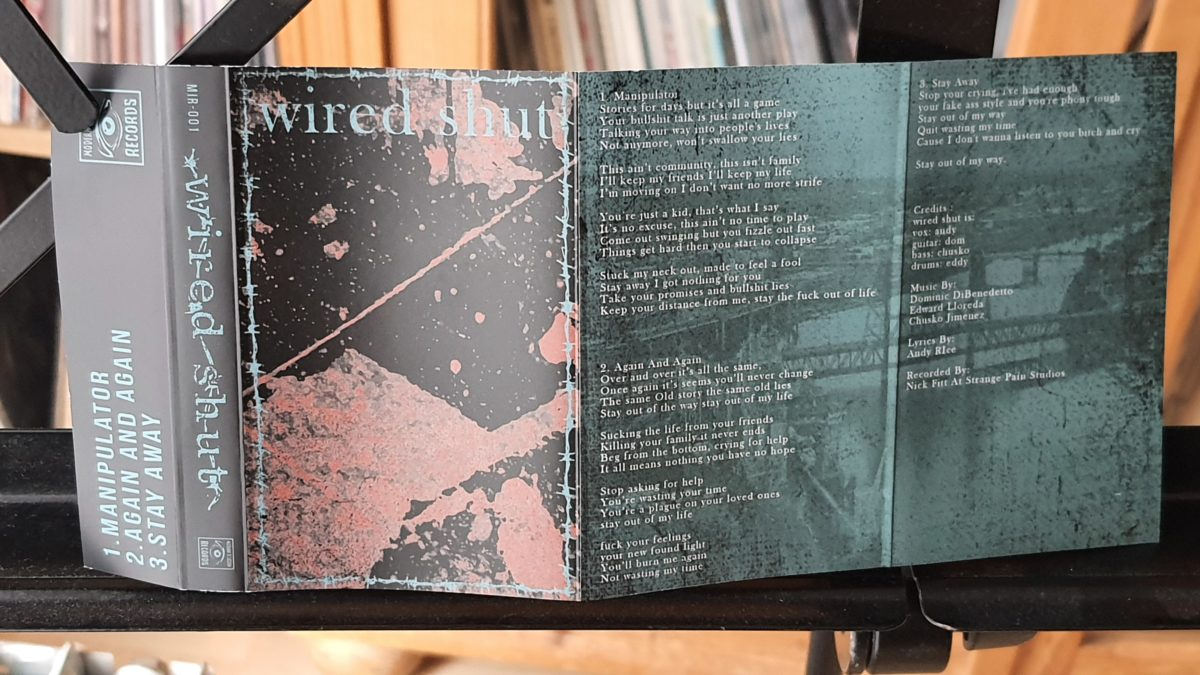 review: WIRED SHUT – s/t MC
