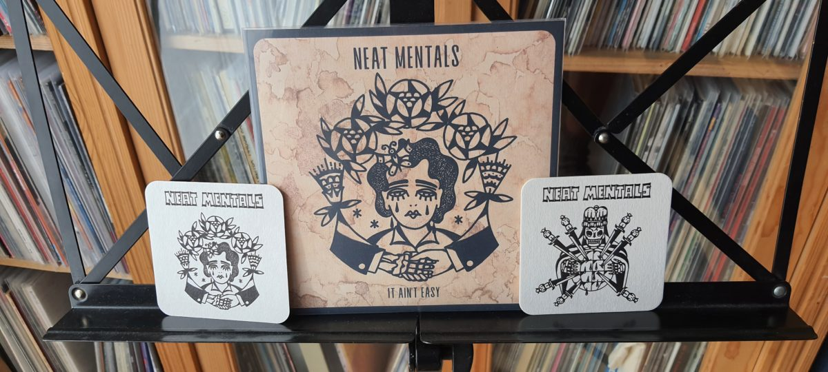review: NEAT MENTALS – virus / it ain't easy 7inch