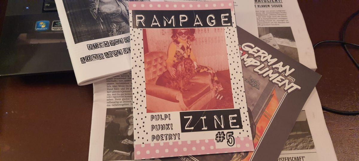 fanzine: Rampage #5